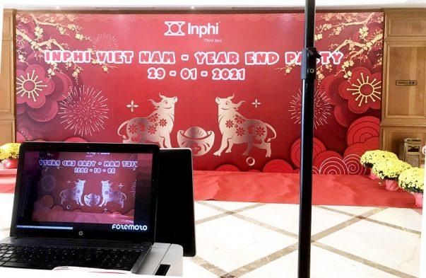 photo booth chup hinh lay lien year end party inphi 2021 fotomoto Fotomoto.vn | Dịch vụ Photo Booth, Chụp Hình, Quay Video